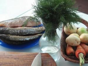 Юшка з річкової риби