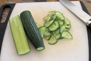 Салат зі смаженою картоплею