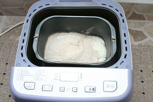 Хліб на заквасці в хлібопічці