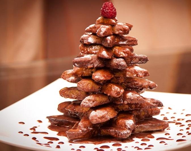 Из шоколада к новому году