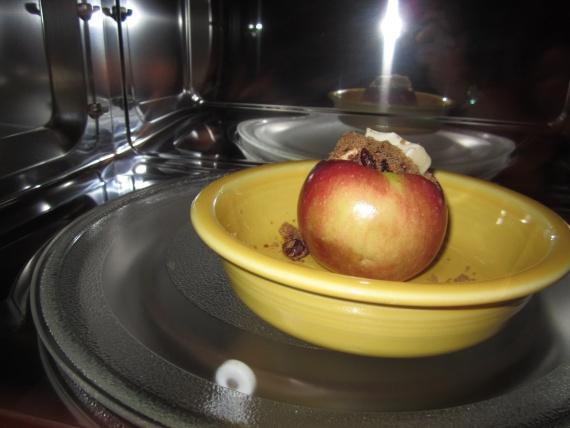 Печеные яблоки рецепт с фото
