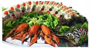 Новогодний стол 2017: как выбрать подходящие блюда