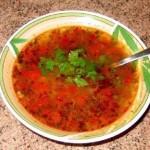 Суп харчо з баранини рецепт