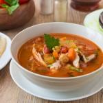 Суп з курки в марокканському стилі