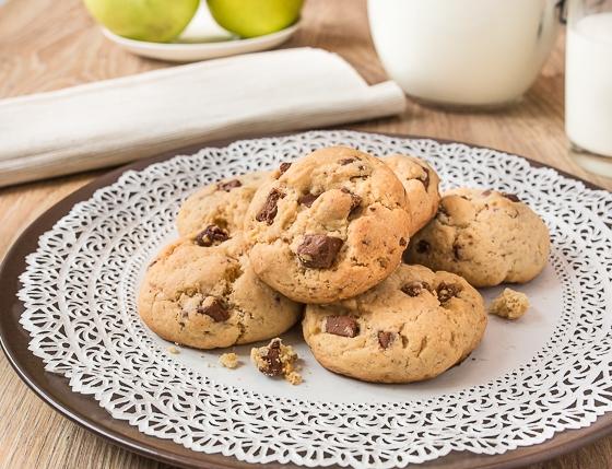 Печиво з шоколадом