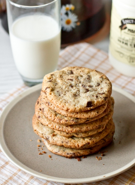 Печиво з шоколадною крихтою