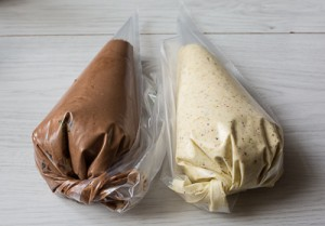 Шоколадно горіховий кекс