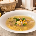 Суп з курки по-римському