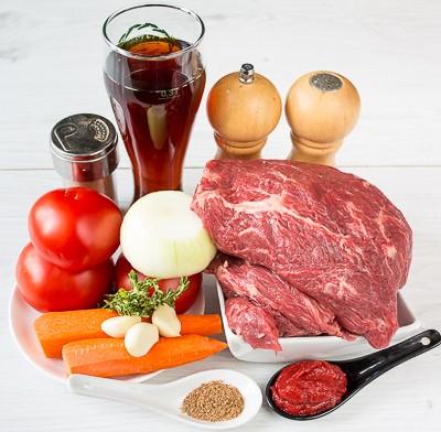 Рагу з яловичини в пиві