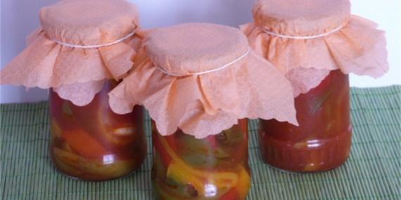 Перец в томатном соке 1