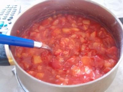 Томатно сливовий кетчуп