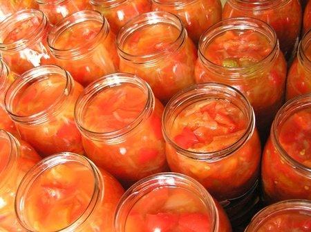 Салат из перца и моркови на зиму