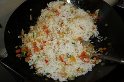 Овочі з рисом на зиму