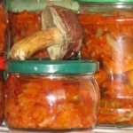 Салат с грибами на зиму