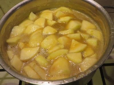Варення з яблук з лимоном