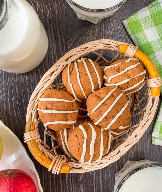 Карамельне печиво на згущеному молоці