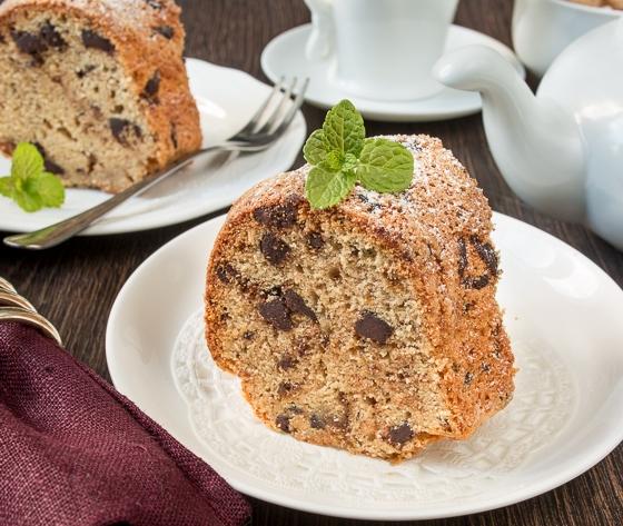 Кекс з коричневим цукром і шоколадом