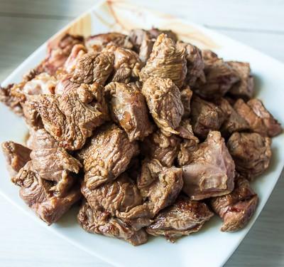 Рагу з яловичини з гарбузом