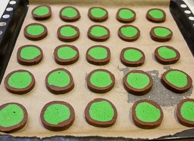 Мятно шоколадне печиво