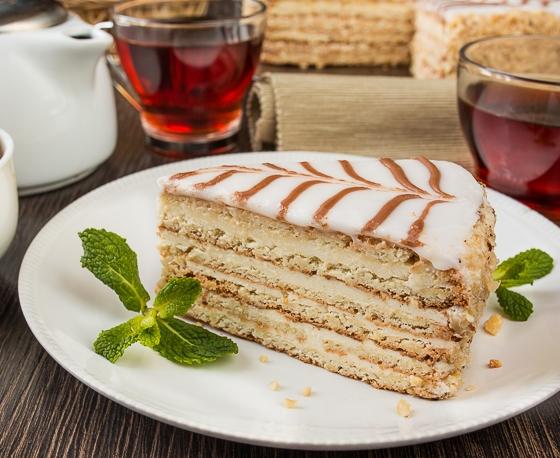 """Торт """"Естерхазі"""" від Тетяни"""