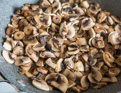 Мясний буханець із грибами