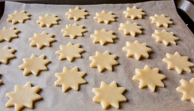 Новорічне цукрове печиво з глазурю