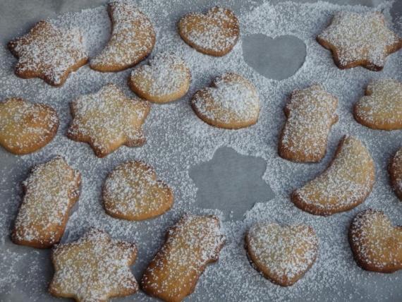 Печиво на кефірі на швидку руку
