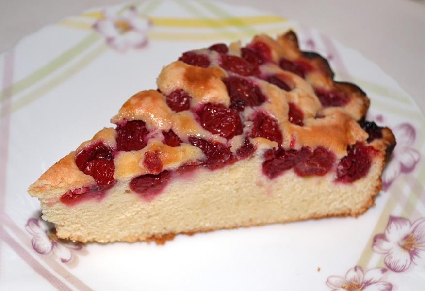 Рецепт пирог с вишнями