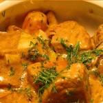 Тушеная телятина — простой рецепт
