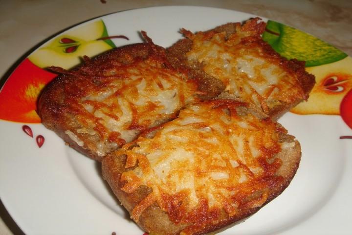 Горячие бутерброды с картошкой на сковороде рецепт с пошагово