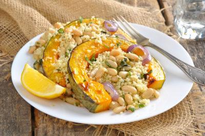 Салат из тыквы и сердца