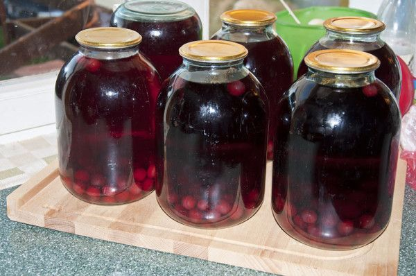 Как варить компот с вишни на зиму 8